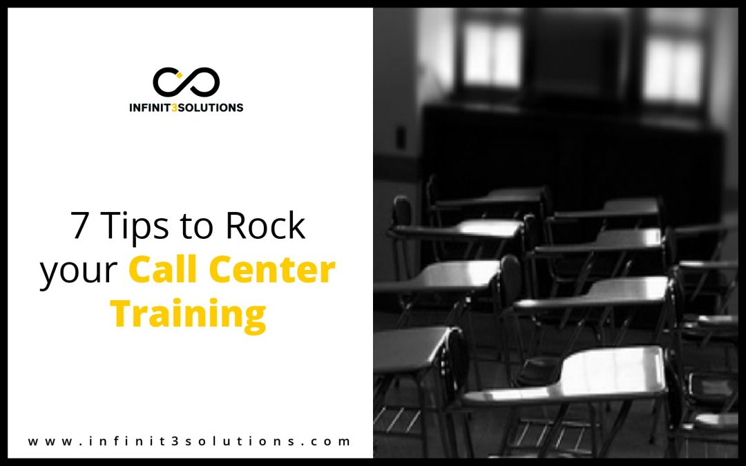 Tips to rock your call center training