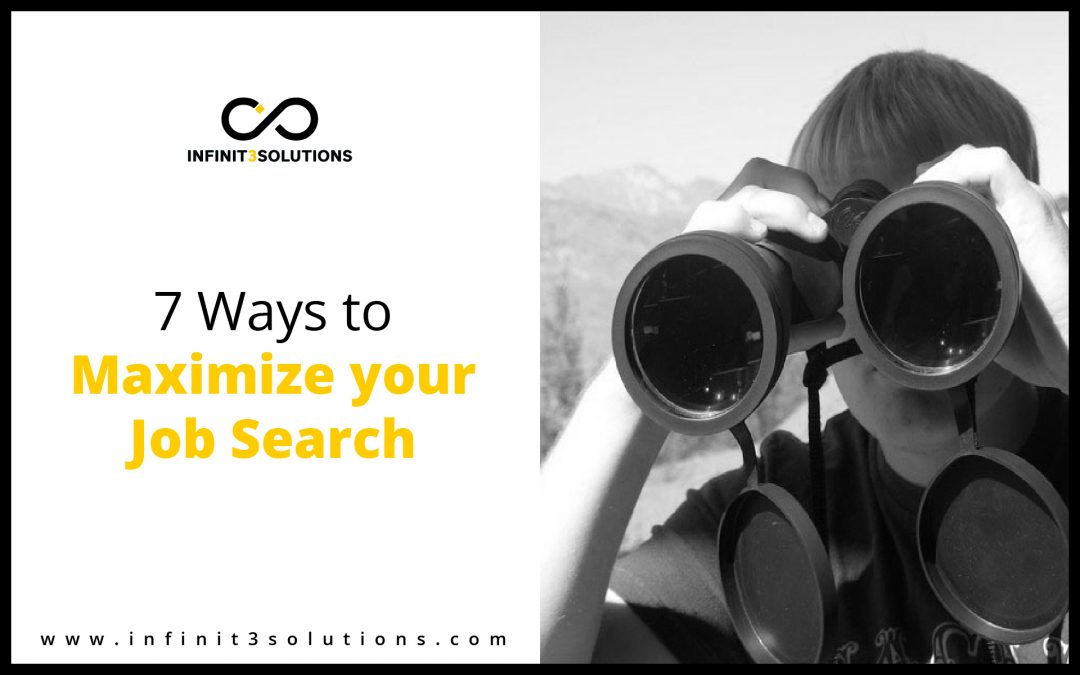 Ways to maximize your job search