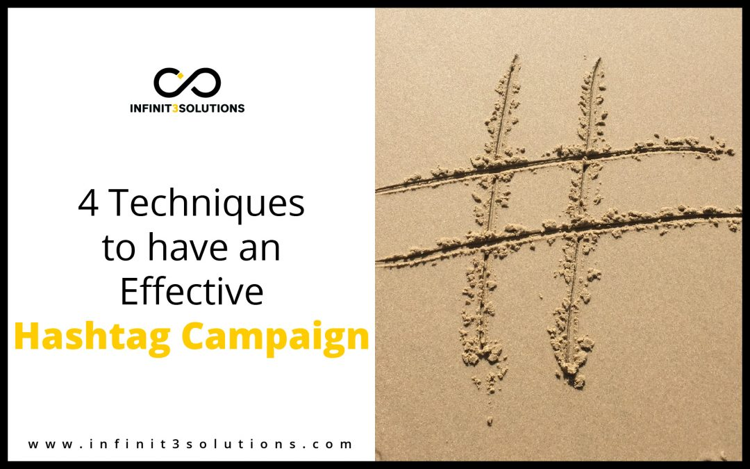 4 Techniques to have an Effective Hashtag Campaign