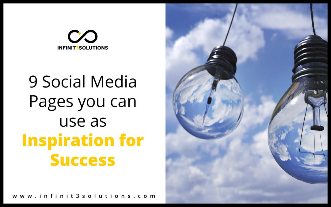 Social Media Pages you can use as inspiration for success