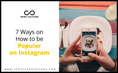 7 Ways on How to Be Popular on Instagram