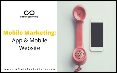 Mobile Marketing: App and Mobile Website