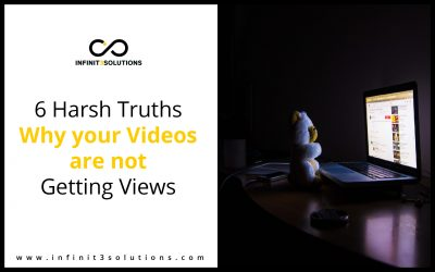 6 Harsh Truths Why Your Videos are Not Getting Views
