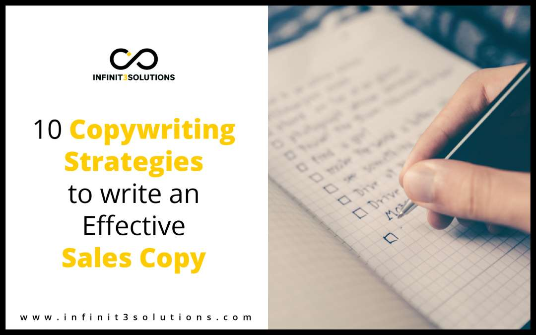 10 Copywriting Strategies To Write an Effective Sales Copy