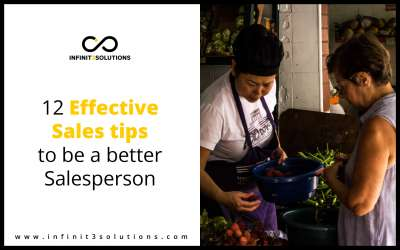 12 Effective Sales Tips to be a Better Salesperson