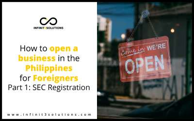 How To Open a Business in the Philippines for Foreigners Part 1: SEC Registration