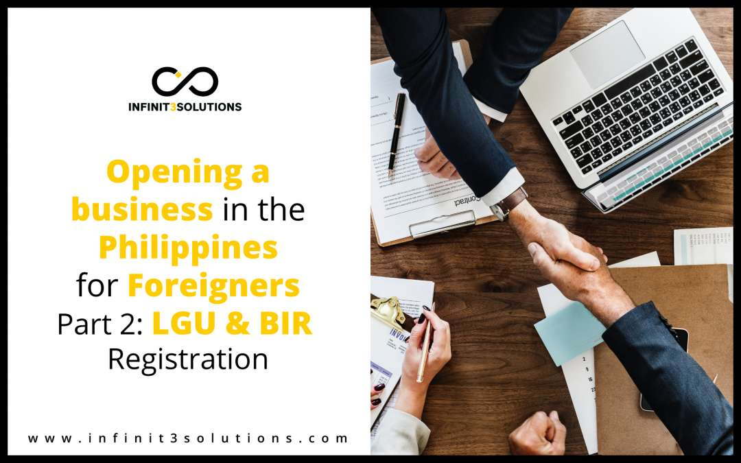 Opening A Business for Foreigners Part 2: Barangay, Mayor's Permit and BIR