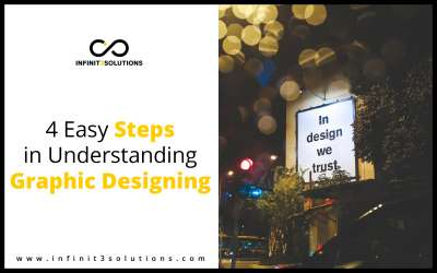4 Easy Steps in Understanding Graphic Designing