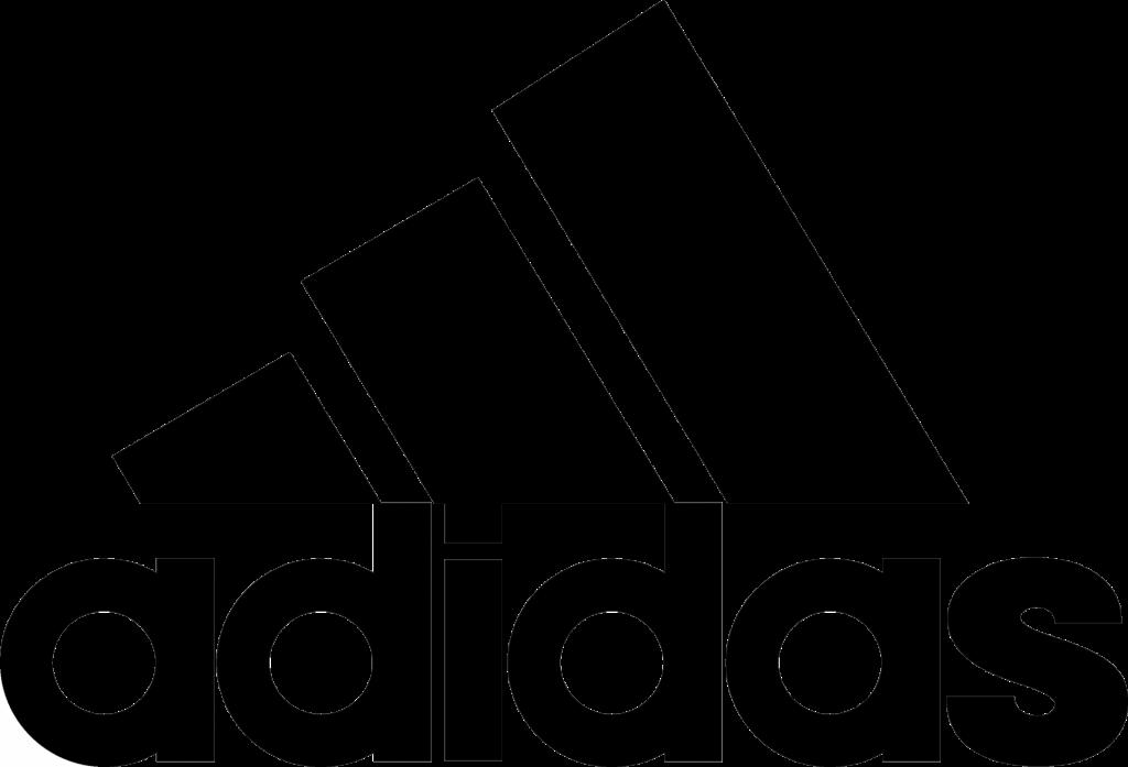 Adidas logo - Sans-serif font