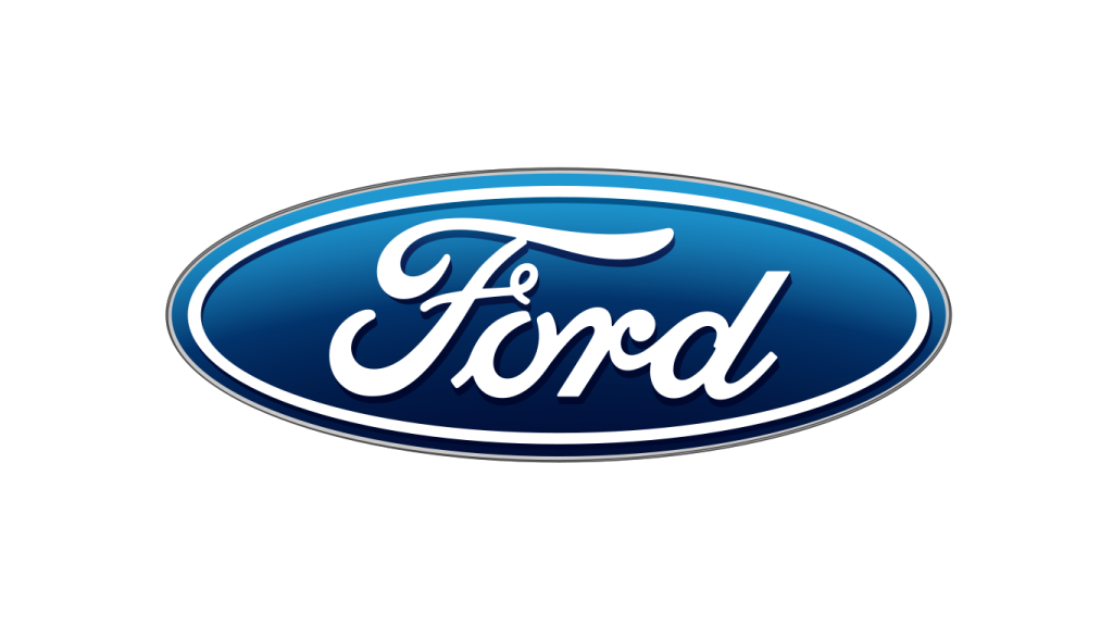 Ford logo - Script font