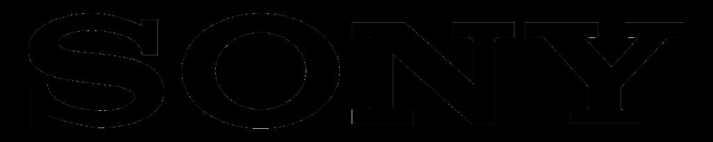 Sony logo - Serif font