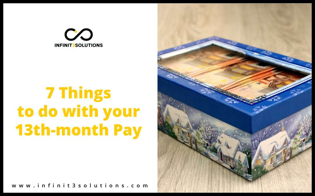 7 Smart Ways To Spend Your 13th-month pay
