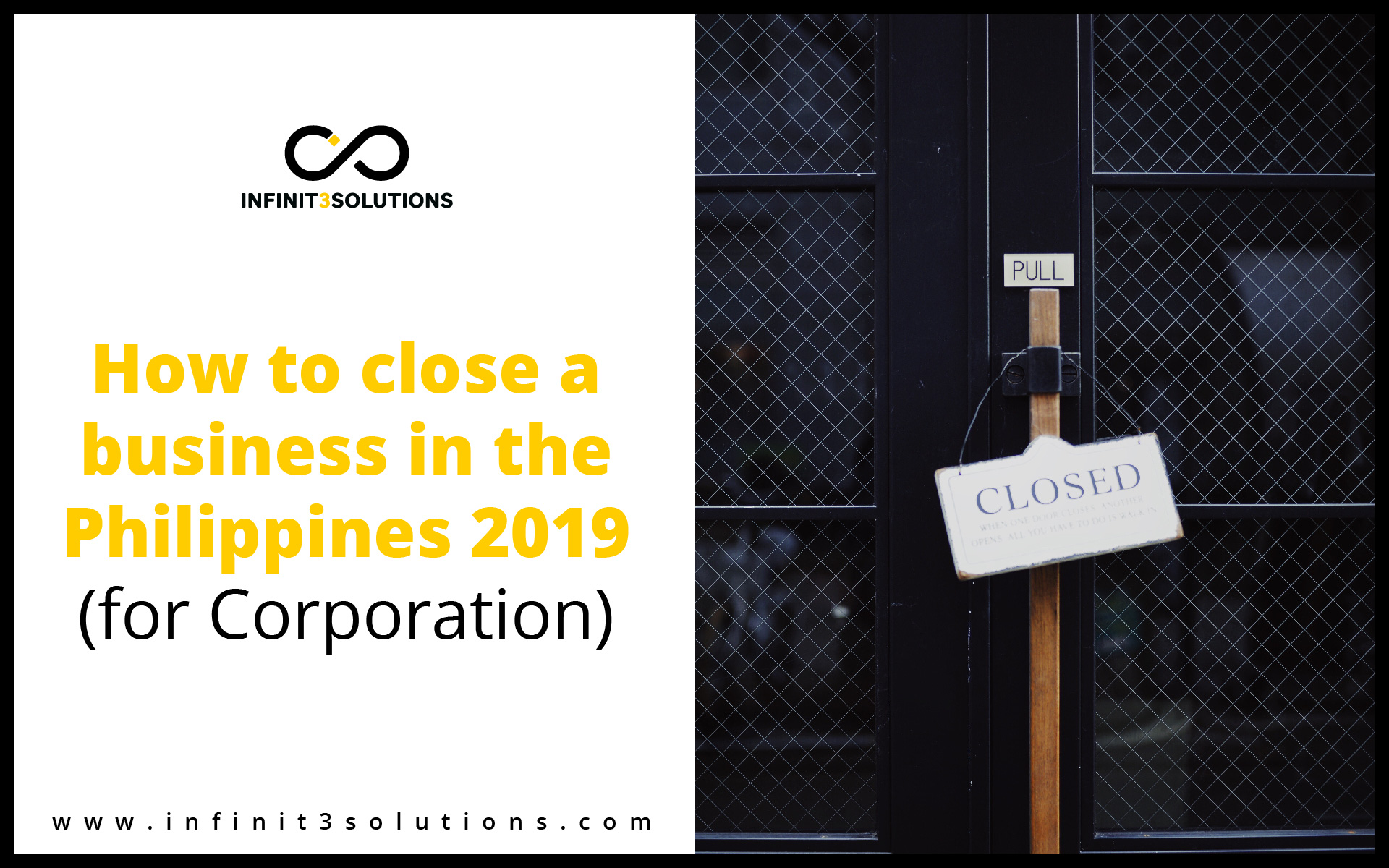 How to close a business in the Philippines 2019 for Corporation