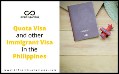 Quota Visa and Other Immigrant Visa in the Philippines