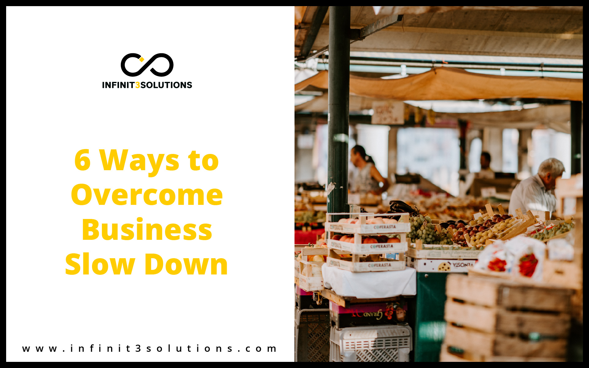 How to overcome business slow down