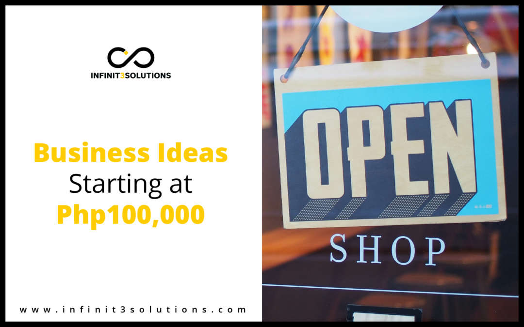 Business Ideas Starting Php 100,000
