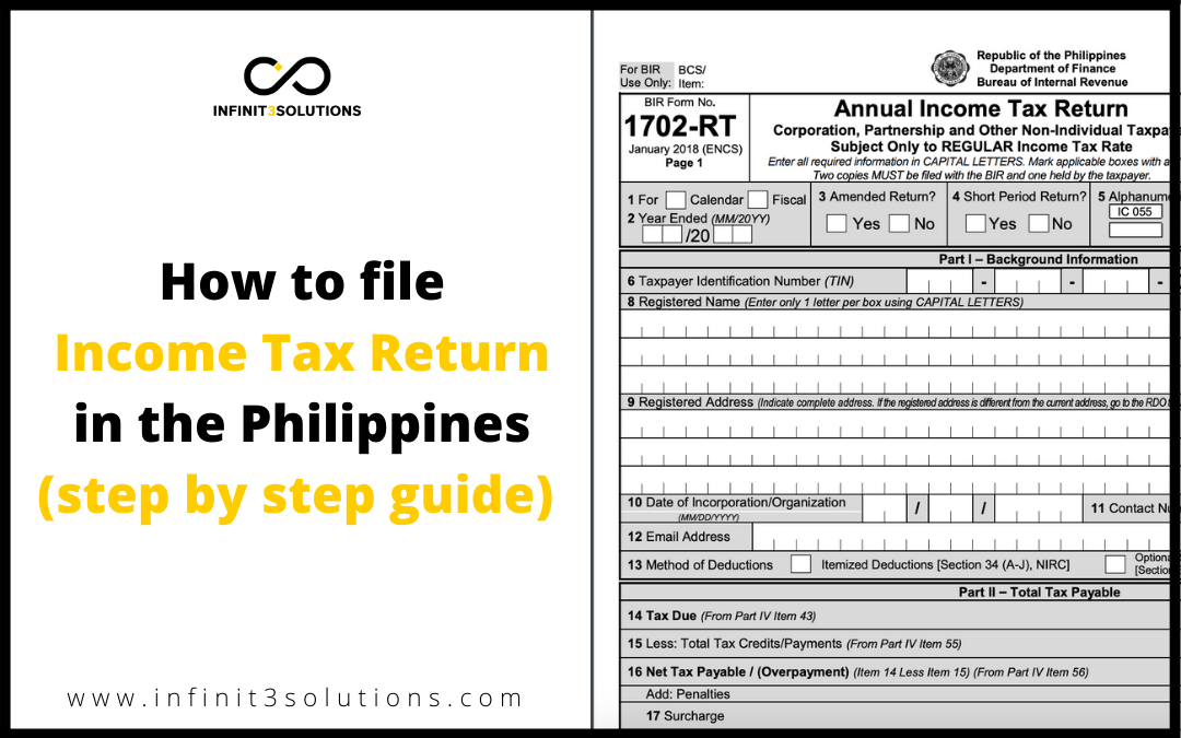 How to File Income Tax Return In the Philippines during Corona Virus (COVID-19) outbreak